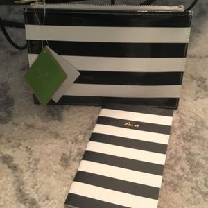 Kate Spade New York Pencil Pouch & Note Book♠️